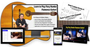 How to Play Fiery Rumba Flamenco Guitar Free Course Image
