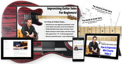 How to Improvise on Guitar Free Course Image