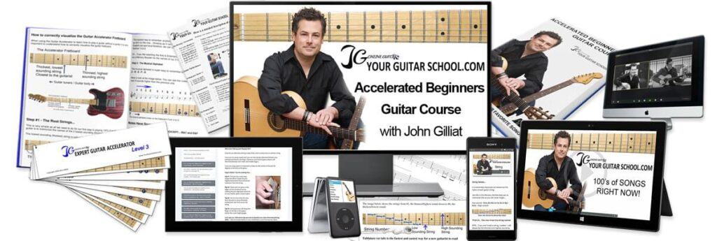Accelerated Beginners Guitar Course Image