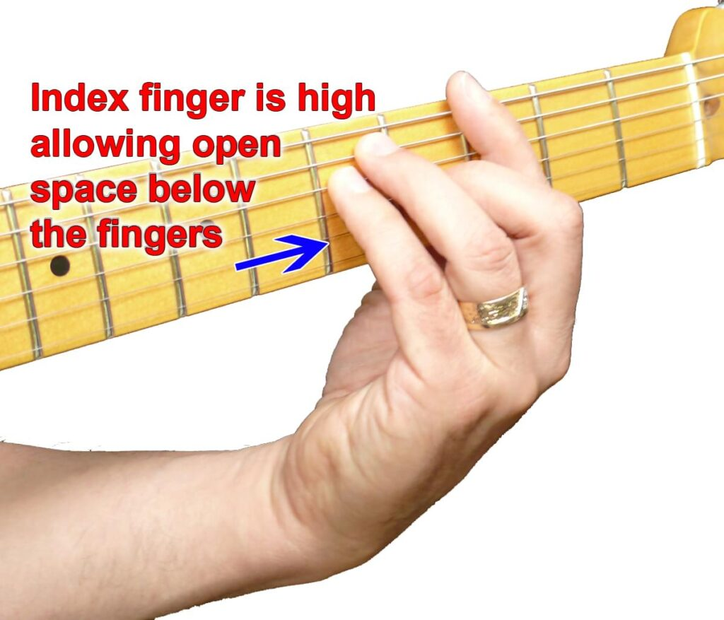 An easier way to play bar chords image 1