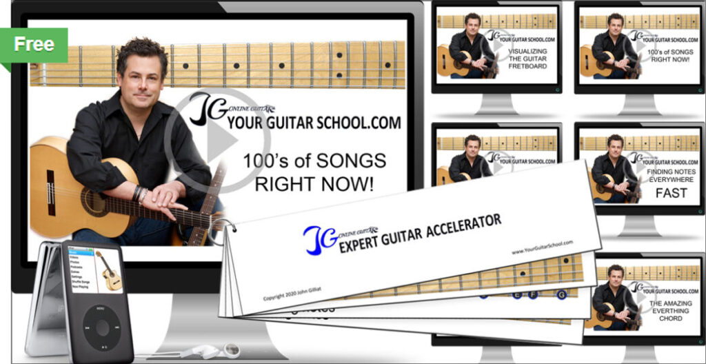 Learn to play guitar without a guitar course image
