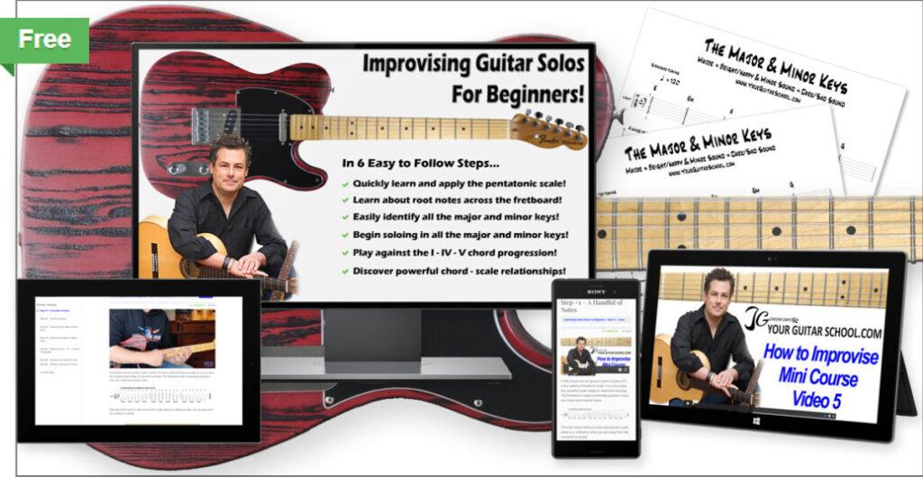 Free Guitar Improvisation Course Product Image