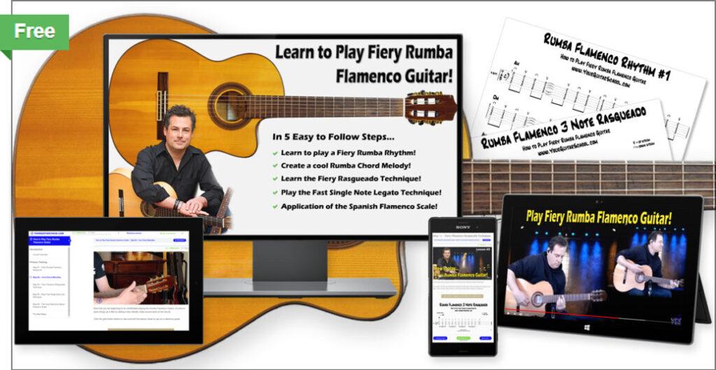 Free rumba flamenco course product image