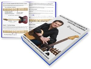 Accelerated Beginners Guitar Flagship Course Book Image