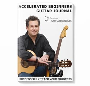 Accelerated Guitar Course Journal Image